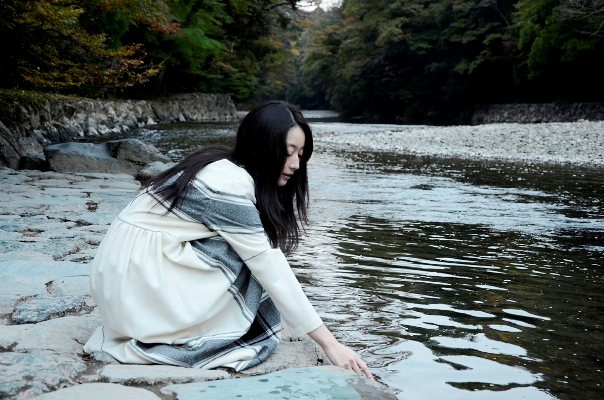 伊勢神宮/五十鈴川 photo by nanaco