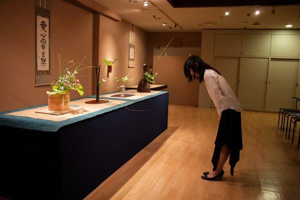 日経ビジネスオンライン連載 花道編:第1回 花をたてること