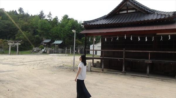 """熊野""""筆""""巡礼 榊山神社"""